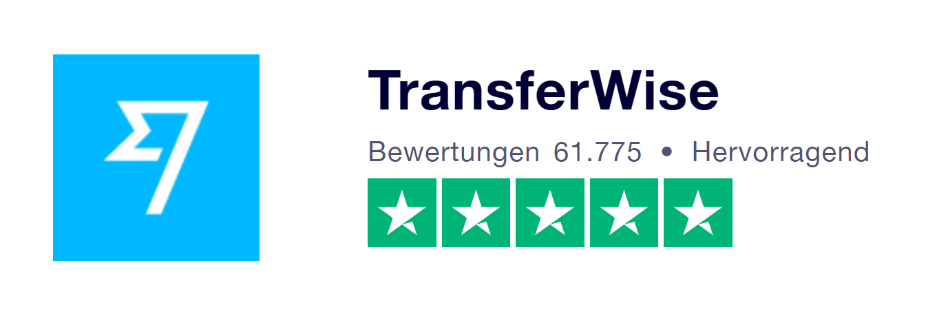 TransferWise-Erfahrungen von Kunden bei Trustpilot