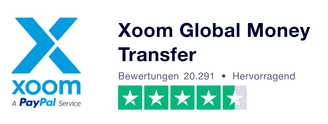 Xoom PayPal Erfahrungen